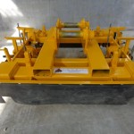 "New Pandrol ""e"" fastener declipping trolley for hi-rail excavator"