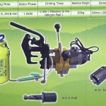 ANG-31 Electric Rail Drill Broach