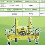 AYQBJ-300 Petrol hydraulic track lifting _ lining machine