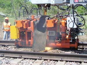 Standard Gauge FLASHBUTT WELDING UNIT