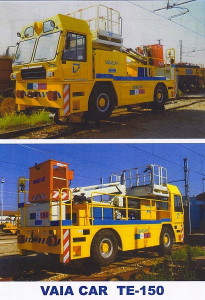 TE-150 HI-RAIL OHL SERVICE VEHICLE