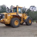 Volvo L120 Fitted with Crane Valves, Height Restrictor, Quick Hitch