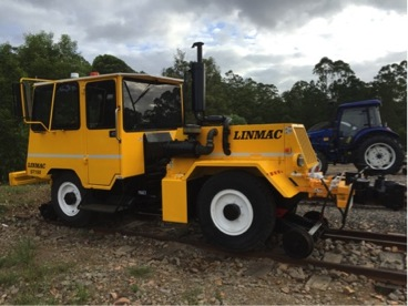 LINMAC 7 TON SHUNT TRACTORS TO SUIT 1067MM TRACK GAUGE