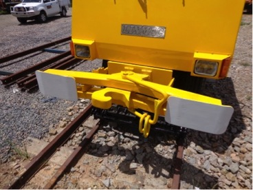 Linmac ST150 Shunter Front standard coupling