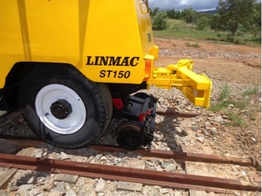 Linmac ST150 Shunter Manual locks for hi-rail