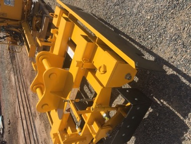 Pandrol E Clip Removal Trolley Fork Lift Slots For lifting