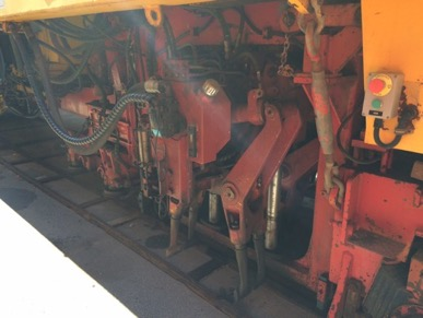 1985 Plasser 09-16CAT production tamper Tamping Tank