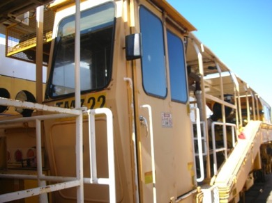 1993 Plasser 08-16B production tamper Front Cabin