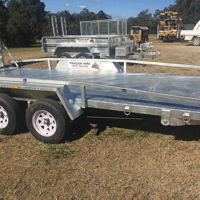 16x6 Car Trailer With Ramps K And G Machinery