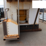 CHEMETRON IN TRACK FLASH BUTT WELDER CONTAINER FOR SALE AUSTRALIA