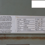 CHEMETRON IN TRACK FLASH BUTT WELDER CONTAINER SPECIFICATIONS