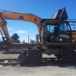 FOR SALE HI-RAIL HYUNDAI 140W-9 EXCAVATOR